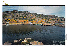 Fish Lake Ut Carry-all Pouch by Cindy Murphy - NightVisions