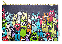 Fish Moon Cats Carry-all Pouch