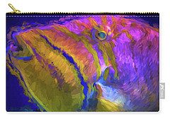 Fish Paint Dory Nemo Carry-all Pouch by David Haskett