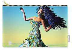Fish Queen Carry-all Pouch