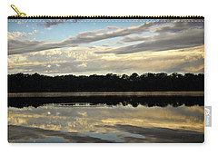 Carry-all Pouch featuring the photograph Fish Ring by Chris Berry
