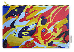 Fish Shoal Abstract 2 Carry-all Pouch