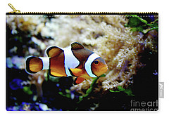 Fish Stripes Clownfish Carry-all Pouch