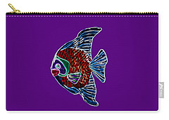 Fish Tales Carry-all Pouch