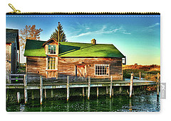Fish Town Shanty  Carry-all Pouch