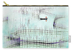 Fisherman Fishing  Carry-all Pouch