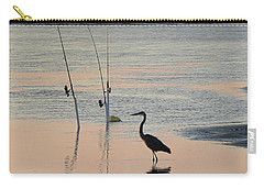 Fisherman Heron Carry-all Pouch