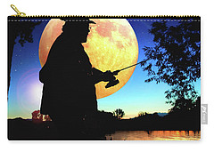 Fisherman In The Moolight Carry-all Pouch