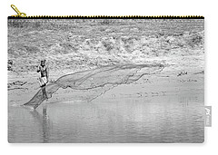 Fisherman On The Lower Ganges Carry-all Pouch