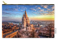 Fisherman's Bastion In Budapest Carry-all Pouch by Shawn Everhart