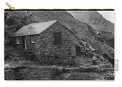 Carry-all Pouch featuring the photograph Fishermans Net Shed by Brian Roscorla