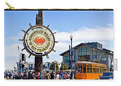 Fishermans Wharf - San Francisco Carry-all Pouch