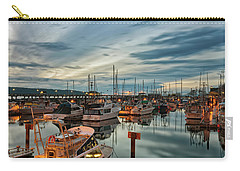 Carry-all Pouch featuring the photograph Fishermans Wharf by Randy Hall