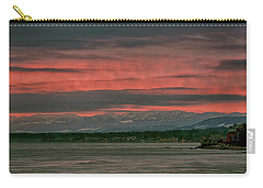 Carry-all Pouch featuring the photograph Fishermans Wharf Sunrise by Randy Hall