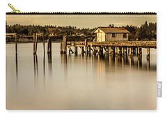 Fishermen Fuel Dock Carry-all Pouch by Tony Locke