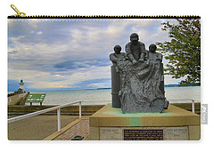 Carry-all Pouch featuring the photograph Fishermen's Memorial by Gary Hall