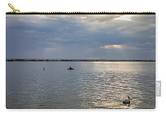 Carry-all Pouch featuring the photograph Fishermens Morning by James BO Insogna