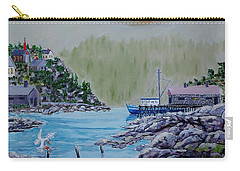 Fisher's Cove Carry-all Pouch by Mike Caitham