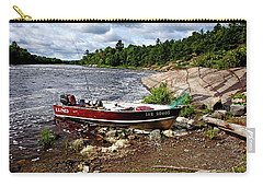 Fishing And Exploring Carry-all Pouch