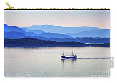 Fishing Boat At Dawn Carry-all Pouch