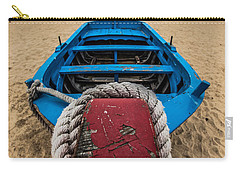 Little Blue Fishing Boat Carry-all Pouch