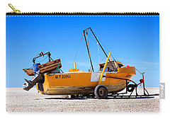 Carry-all Pouch featuring the photograph Fishing Boat by Silvia Bruno