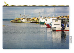 Fishing Boats At Feltzen South Carry-all Pouch by Ken Morris