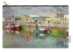 Fishing Boats In Ireland Carry-all Pouch