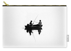 Fishing Buddies Carry-all Pouch by David Lee Thompson