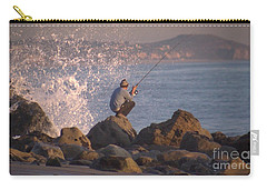 Carry-all Pouch featuring the photograph Fishing by Chris Tarpening