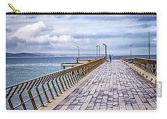 Carry-all Pouch featuring the photograph Fishing Day by Perry Webster