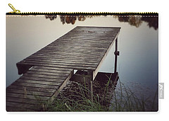 Fishing Dock Carry-all Pouch by Karen Stahlros