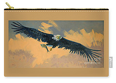 Fishing Eagle Carry-all Pouch