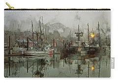 Fishing Fleet Dock Five Carry-all Pouch