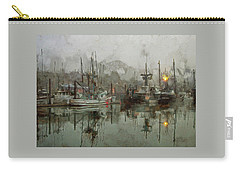 Fishing Fleet Dock Five Carry-all Pouch