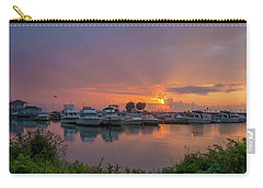 Fishing Harbor Carry-all Pouch