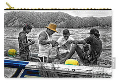 Fishing In Puerto Lopez Carry-all Pouch