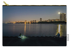 Fishing In The Moonlight Carry-all Pouch