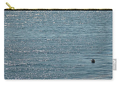 Fishing In The Ocean Off Palos Verdes Carry-all Pouch