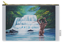 Fishing In The River Carry-all Pouch