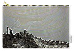 Fishing In The Twilight Zone Carry-all Pouch