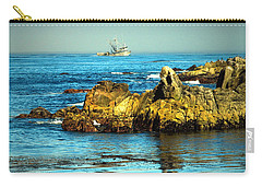Fishing Monterey Bay Ca Carry-all Pouch