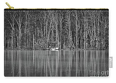 Carry-all Pouch featuring the photograph Fishing Norris Lake by Douglas Stucky