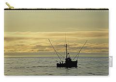 Fishing Off Santa Cruz Carry-all Pouch