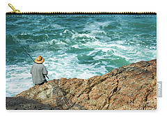 Fishing On Mutton Bird Island Carry-all Pouch