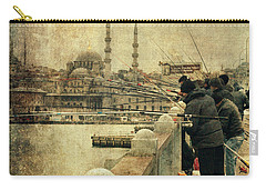 Fishing On The Bosphorus Carry-all Pouch
