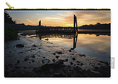 Fishing Pier At Dawn Carry-all Pouch
