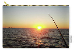 Fishing Pole Taken On 35mm Film Carry-all Pouch