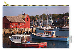 Carry-all Pouch featuring the photograph Fishing Shack by John Scates