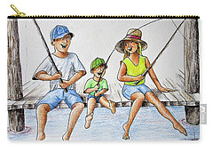 Fishing Tale Carry-all Pouch